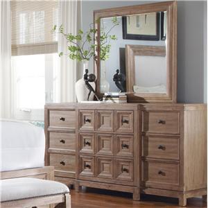 Belfort Signature Madera Dresser & Mirror Set