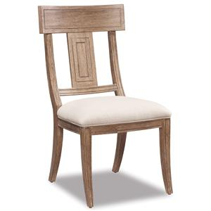 Belfort Signature Madera Splat Back Side Chair