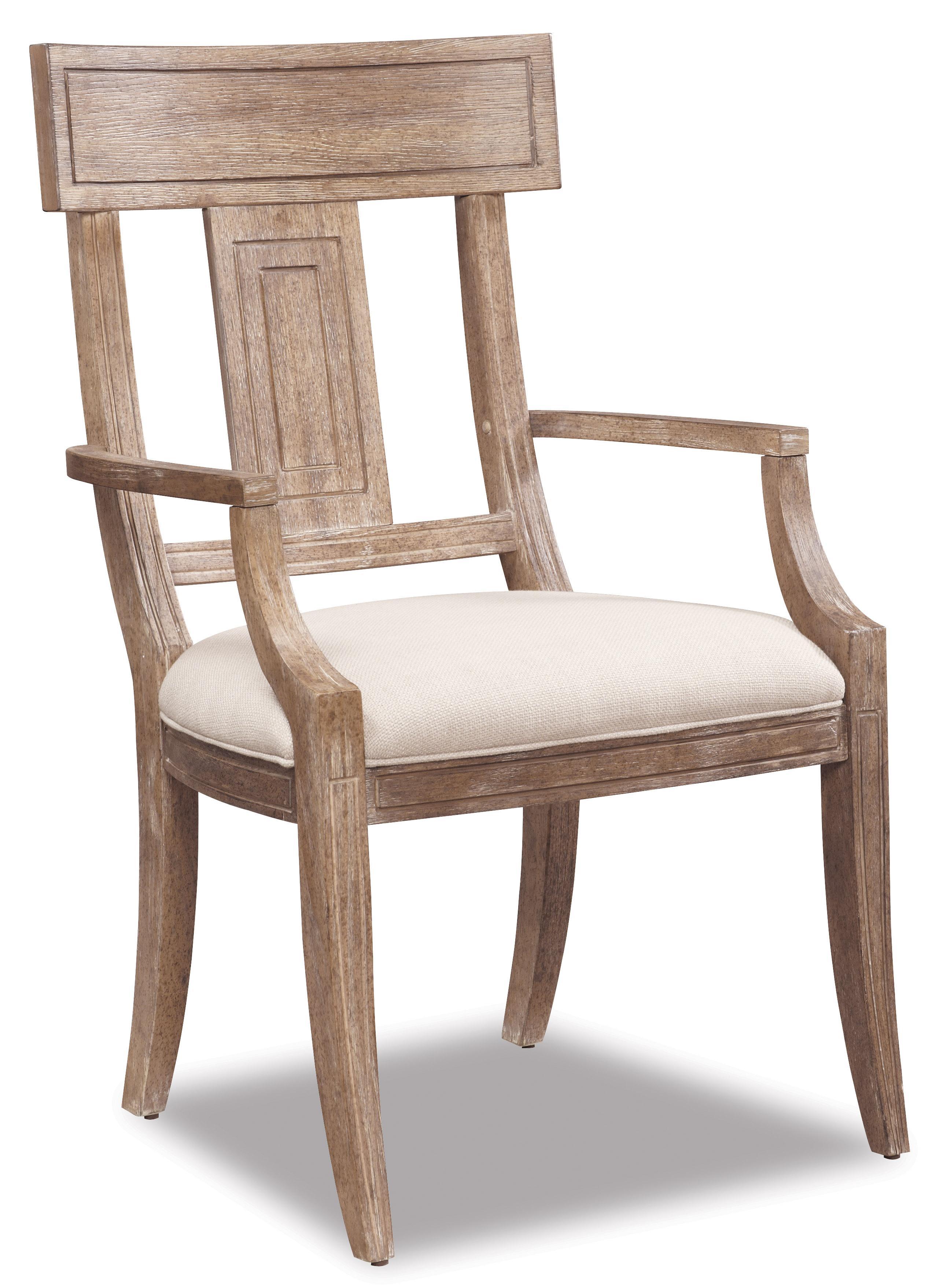 Belfort Signature Madera Splat Back Arm Chair - Item Number: 192205-2303