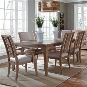 Belfort Signature Madera Leg Dining Table Set