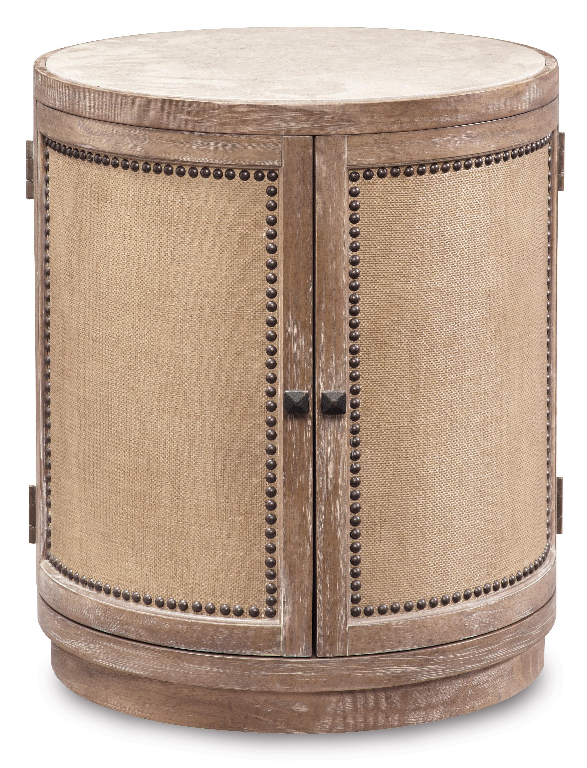 Belfort Signature Madera Round Lamp Table - Item Number: 192303-2303