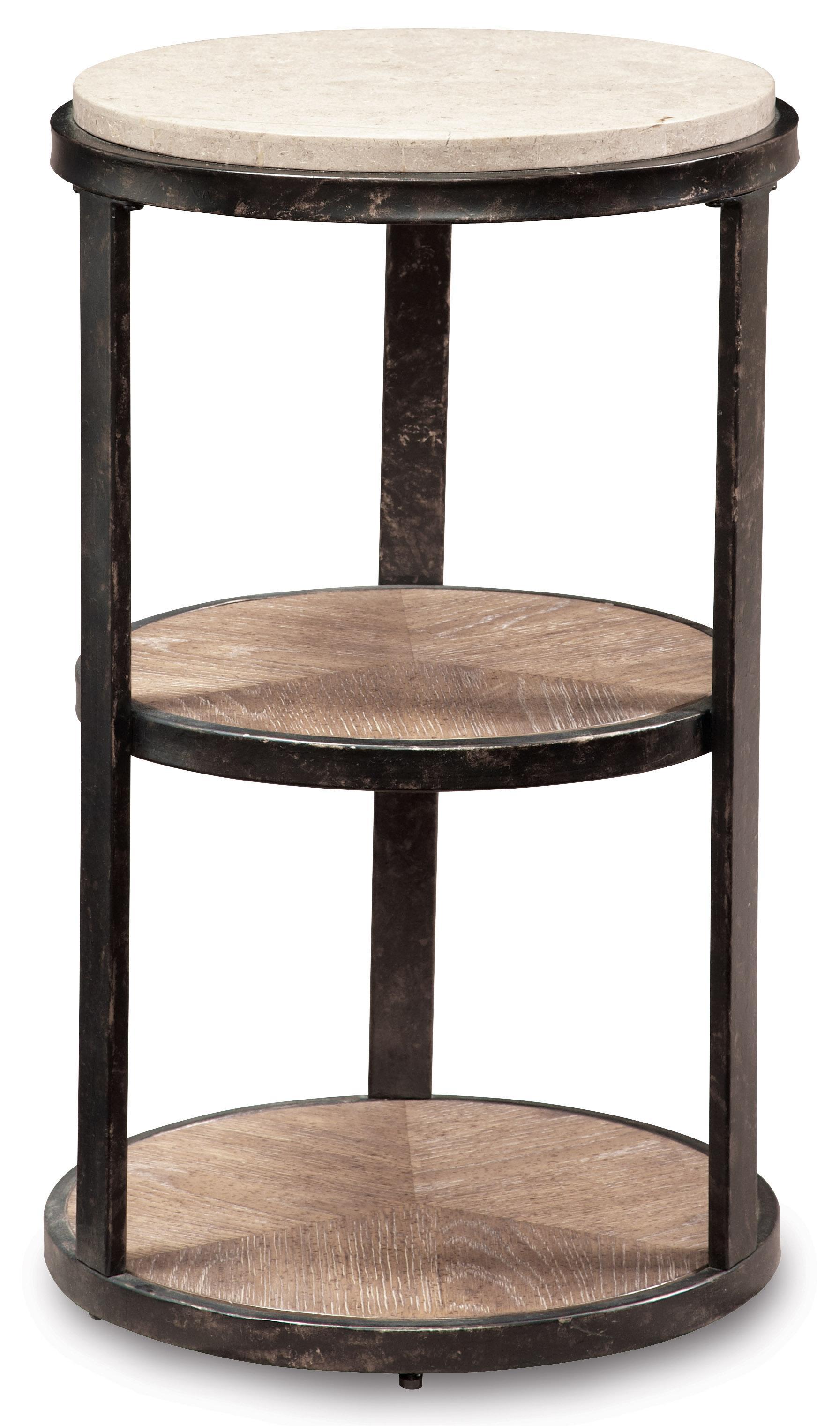 Belfort Signature Madera Pedestal Accent Table - Item Number: 192309-2303
