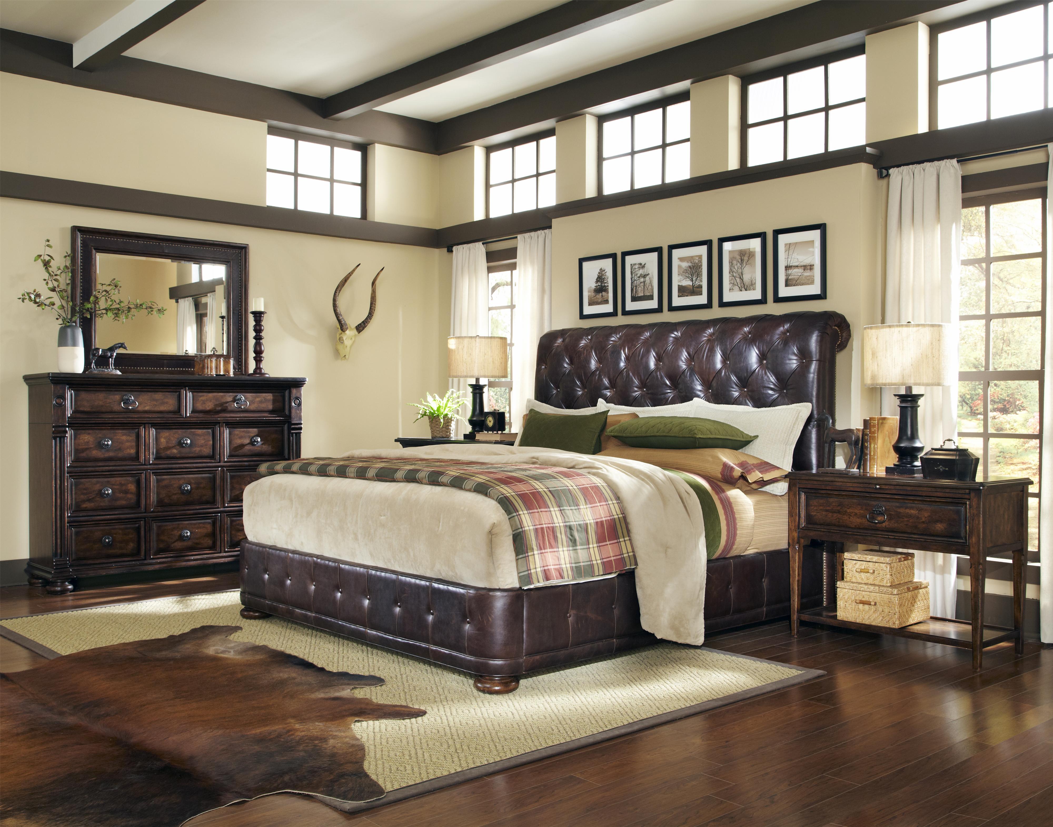 Belfort Signature Belvedere King Bedroom Group - Item Number: 205000 K Bedroom Group 2