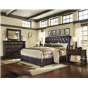 A.R.T. Furniture Inc Whiskey Oak Queen Bedroom Group - Item Number: 205000 Q Bedroom Group 2
