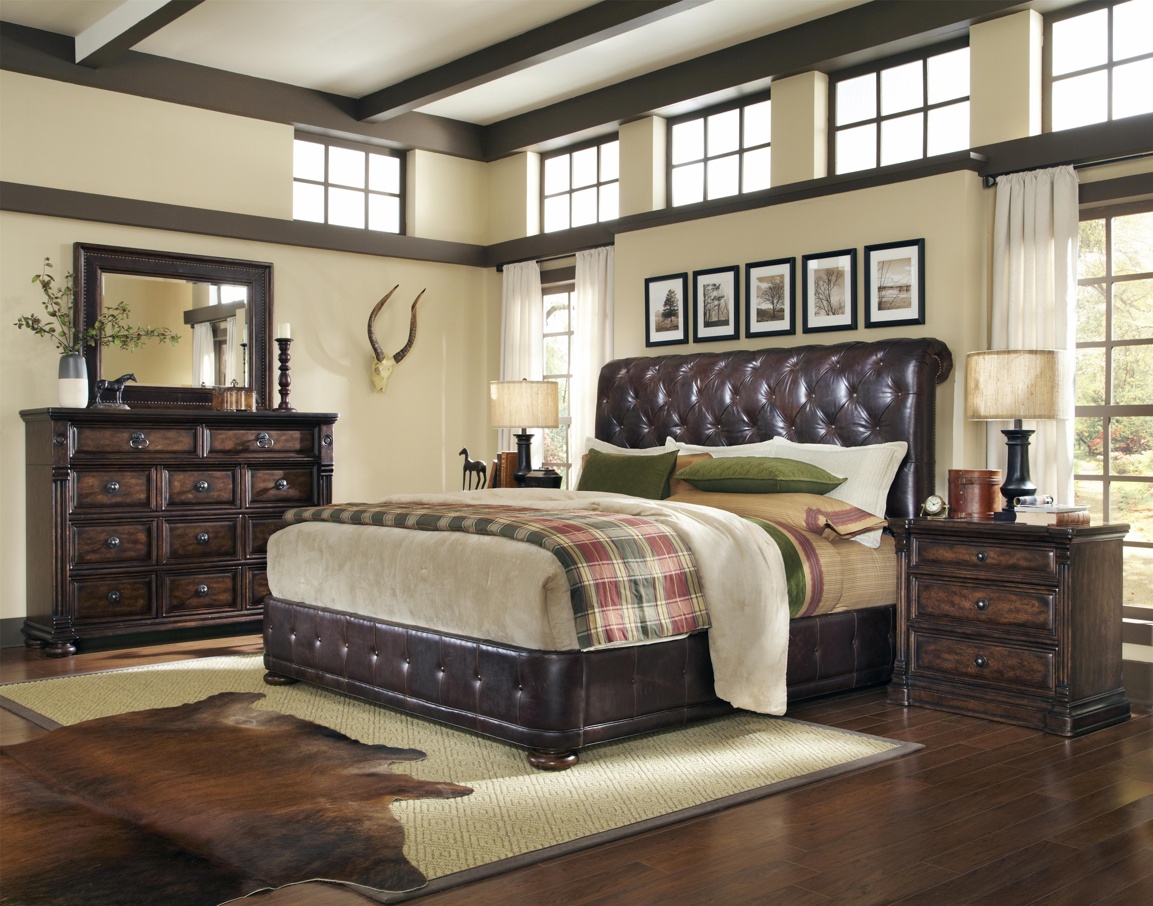 Belfort Signature Belvedere King Bedroom Group - Item Number: 205000 K Bedroom Group 4