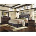 A.R.T. Furniture Inc Whiskey Oak King Bedroom Group - Item Number: 205000 K Bedroom Group 4