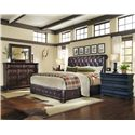 A.R.T. Furniture Inc Whiskey Oak Queen Bedroom Group - Item Number: 205000 Q Bedroom Group 5