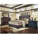 A.R.T. Furniture Inc Whiskey Oak King Bedroom Group - Item Number: 205000 K Bedroom Group 5