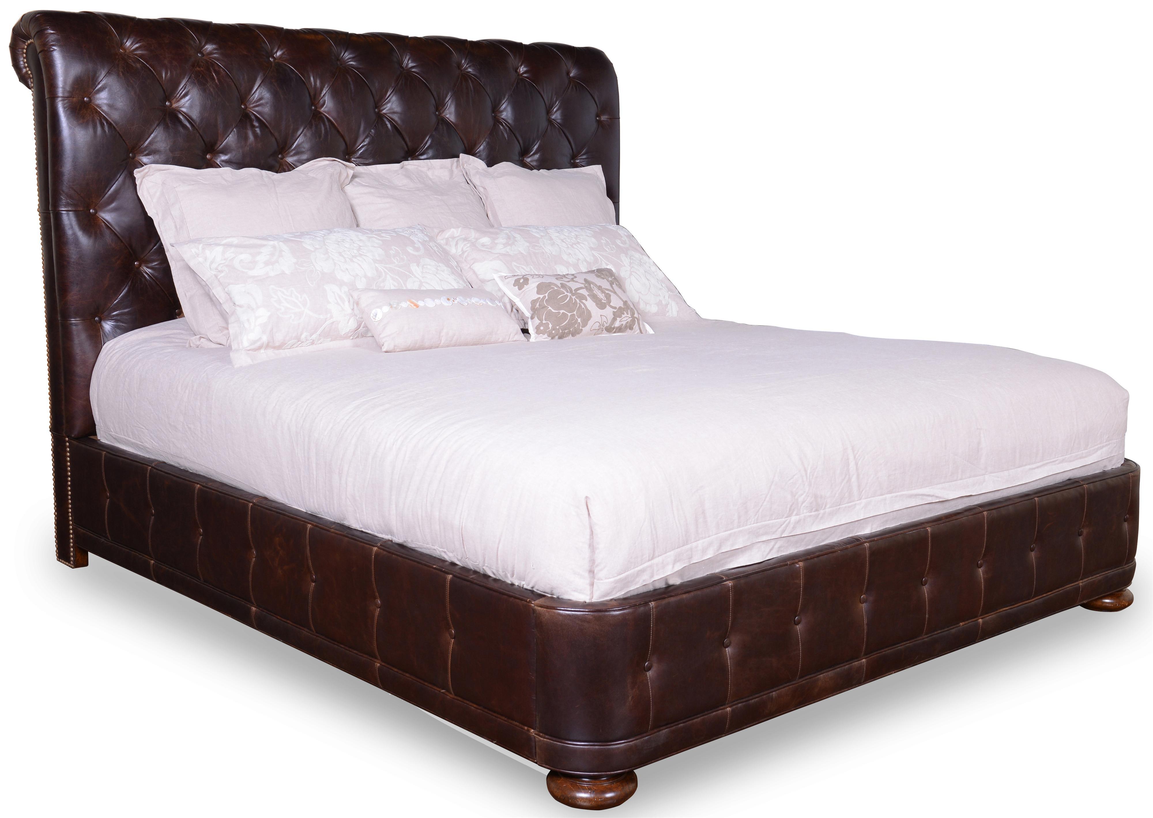 Belfort Signature Belvedere King Upholstered Platform Bed - Item Number: 205136-2304