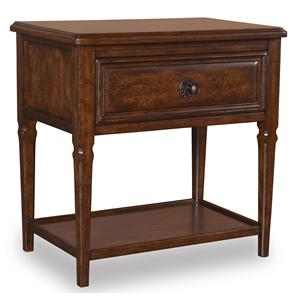 A.R.T. Furniture Inc Whiskey Oak Leg Nightstand