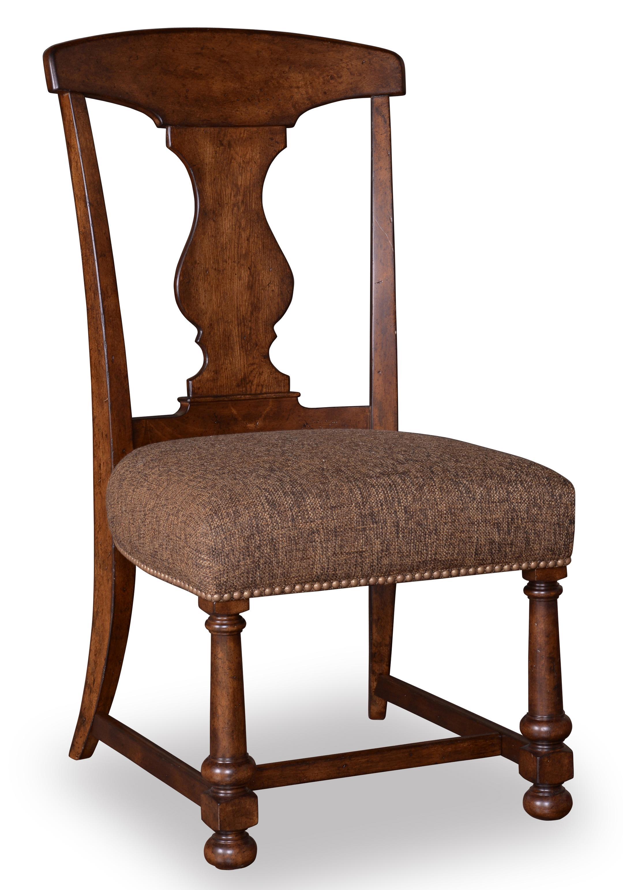Belfort Signature Belvedere Splat-Back Side Chair - Item Number: 205204-2304