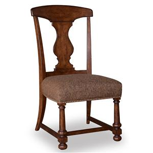 A.R.T. Furniture Inc Whiskey Oak Splat-Back Side Chair