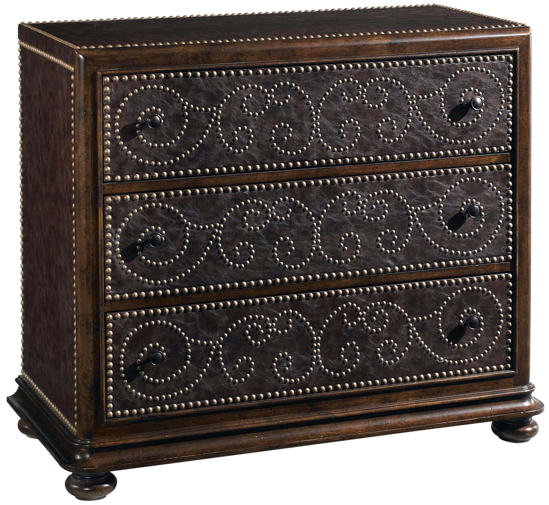 Belfort Signature Belvedere Leather Hall Chest - Item Number: 205397-2304