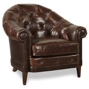 Markor Furniture Kennedy Walnut Chair