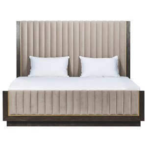 King Mulholland Upholstered Bed