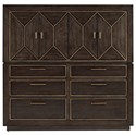 A.R.T. Furniture Inc WoodWright Ennis Master Chest  - Item Number: 253152-2315