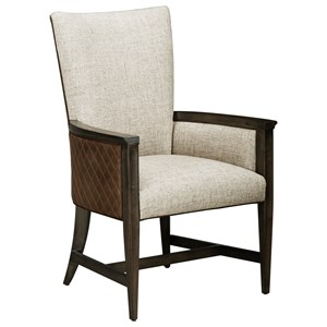 Racine Upholstered Arm Chair