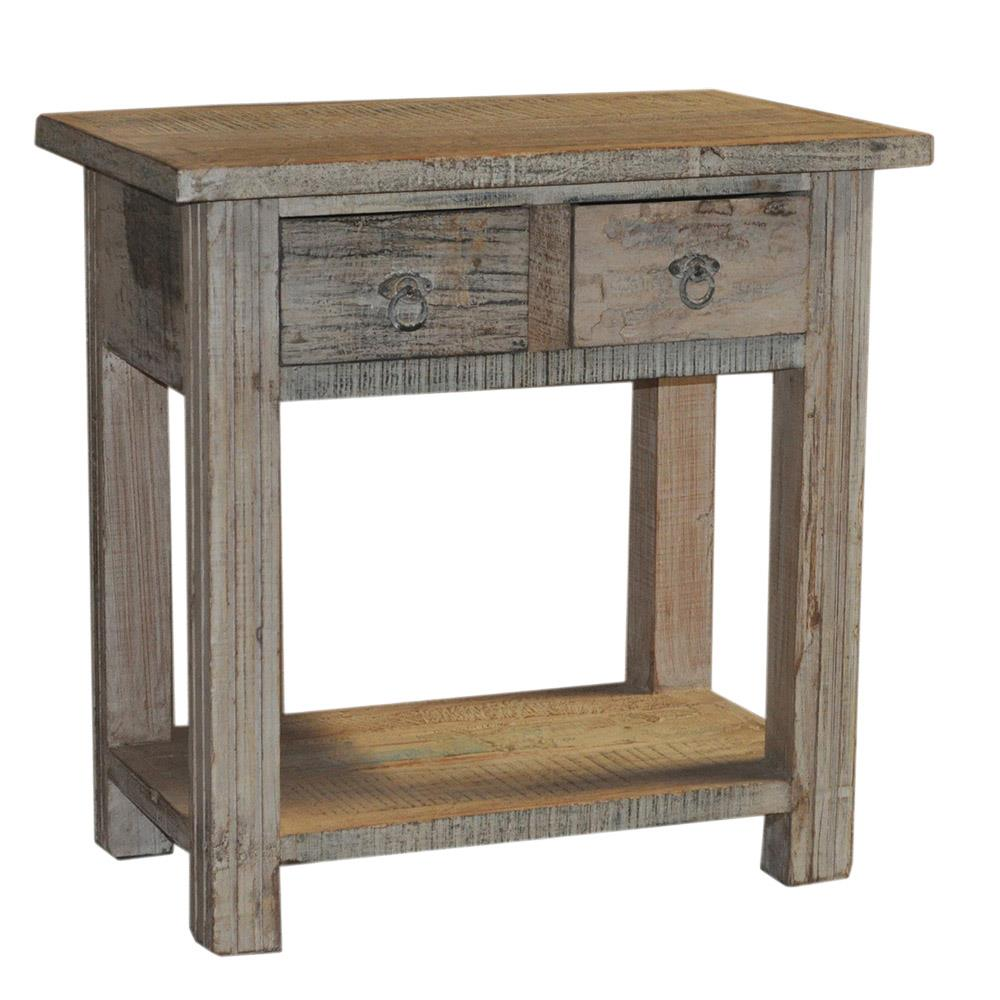 Artage International Rustic Accent Table - Item Number: 000025