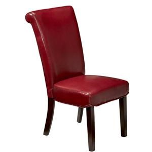 Artage International Rolland Red Parsons Chair