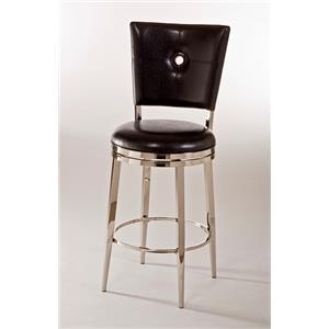 Artage International Montbrook Metal & Upholstered Bar Stool
