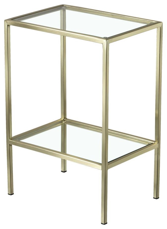 Artage International Aroma Rectangular Side Table - Item Number: 21809-23C-C