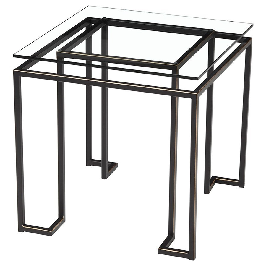 Artage International Aurora Square Lamp Table - Item Number: 21507-02 C