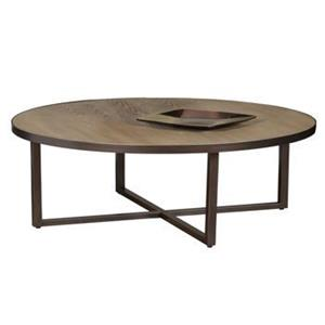 Artage International Fernbrook Oval Cocktail Table