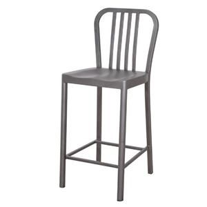 Artage International York Gunmetal Barstool
