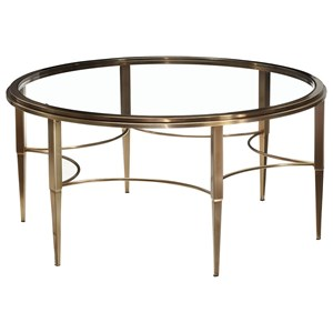 Artage International Sovereign Round Cocktail Table