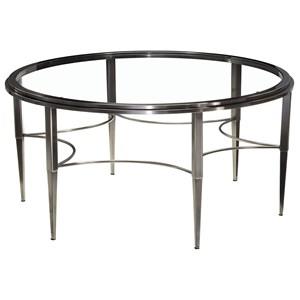 Artage International Sovereign Round Cocktail Table