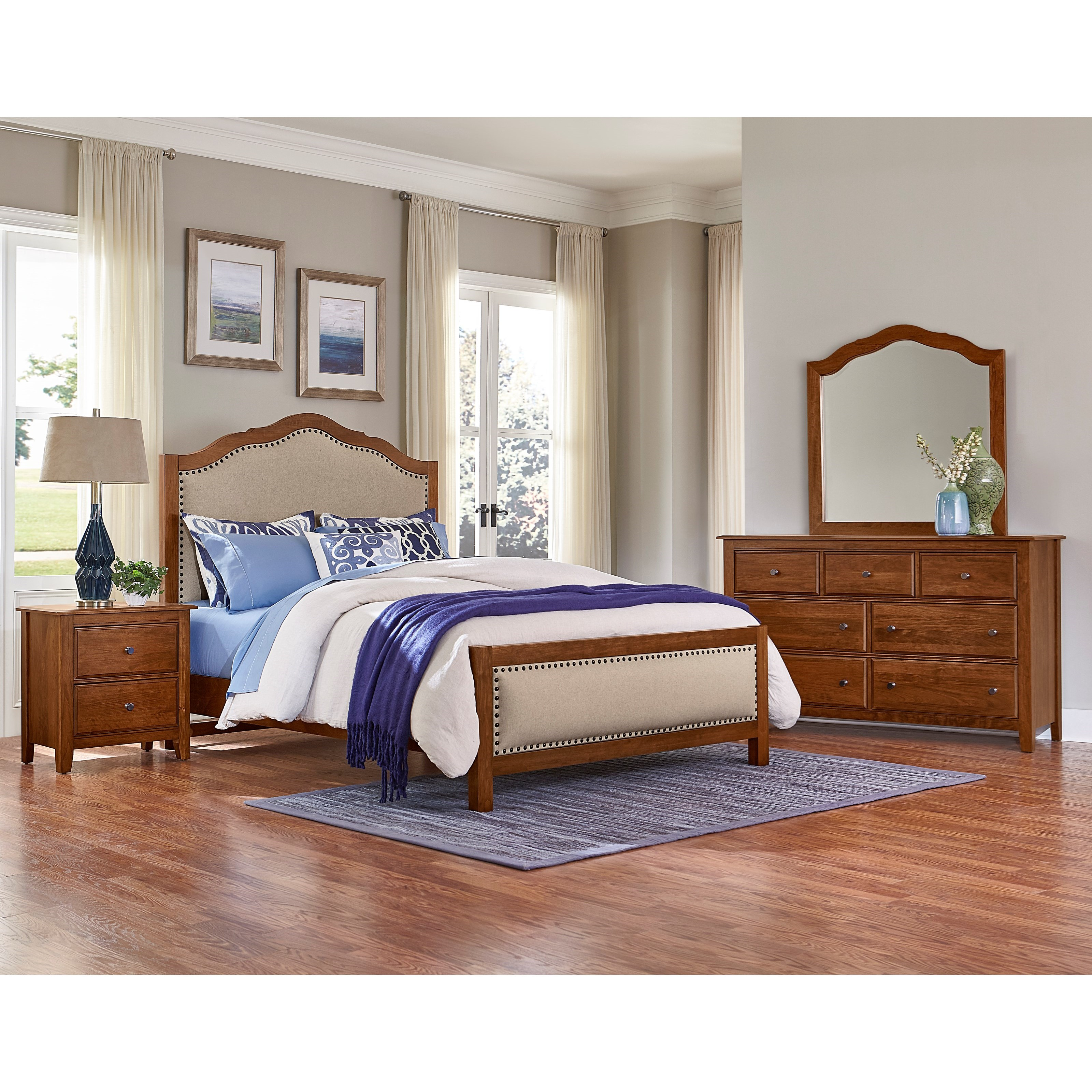 Artisan Choices Queen Bedroom Group by Artisan & Post at Rooms and Rest