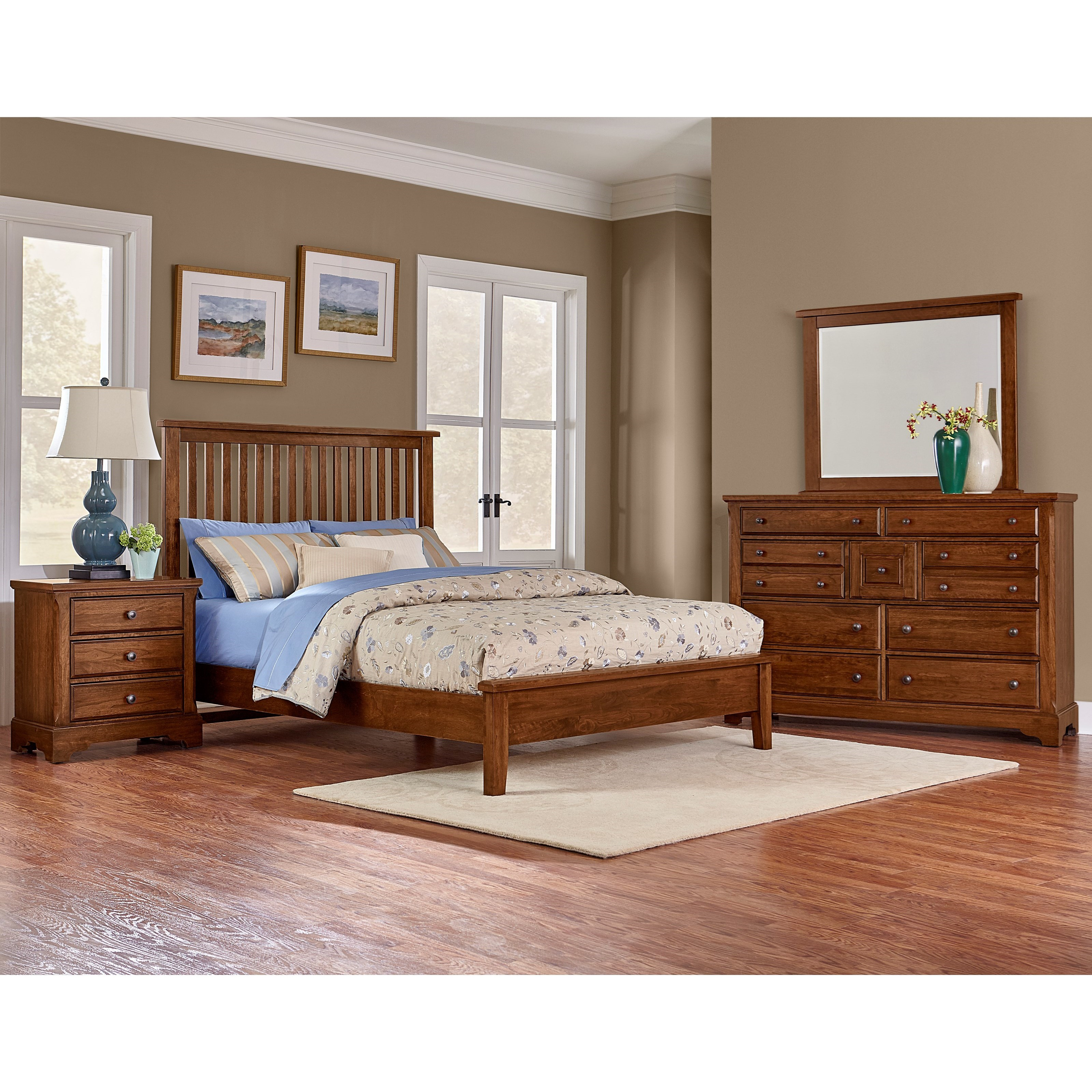 Artisan Choices King Bedroom Group by Artisan & Post at Northeast Factory Direct
