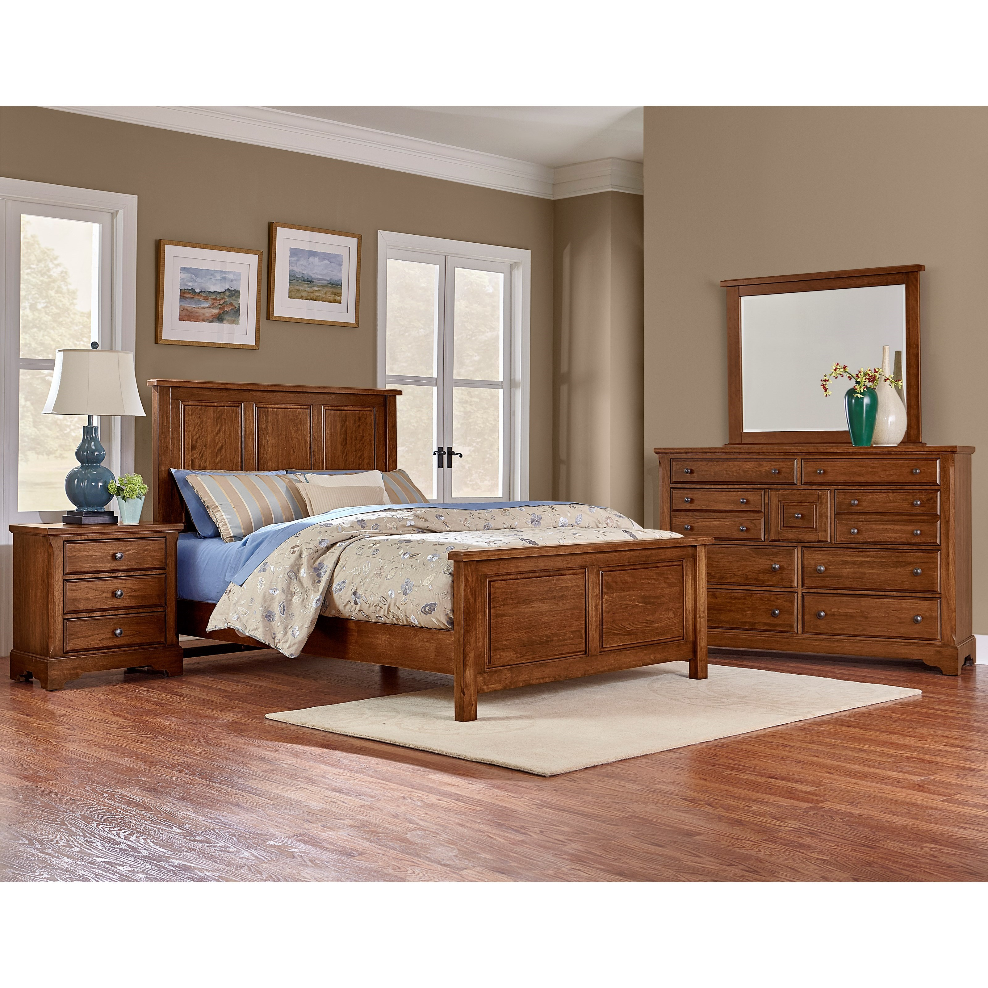 Artisan & Post Artisan Choices King Bedroom Group - Item Number: 100 K Bedroom Group 8