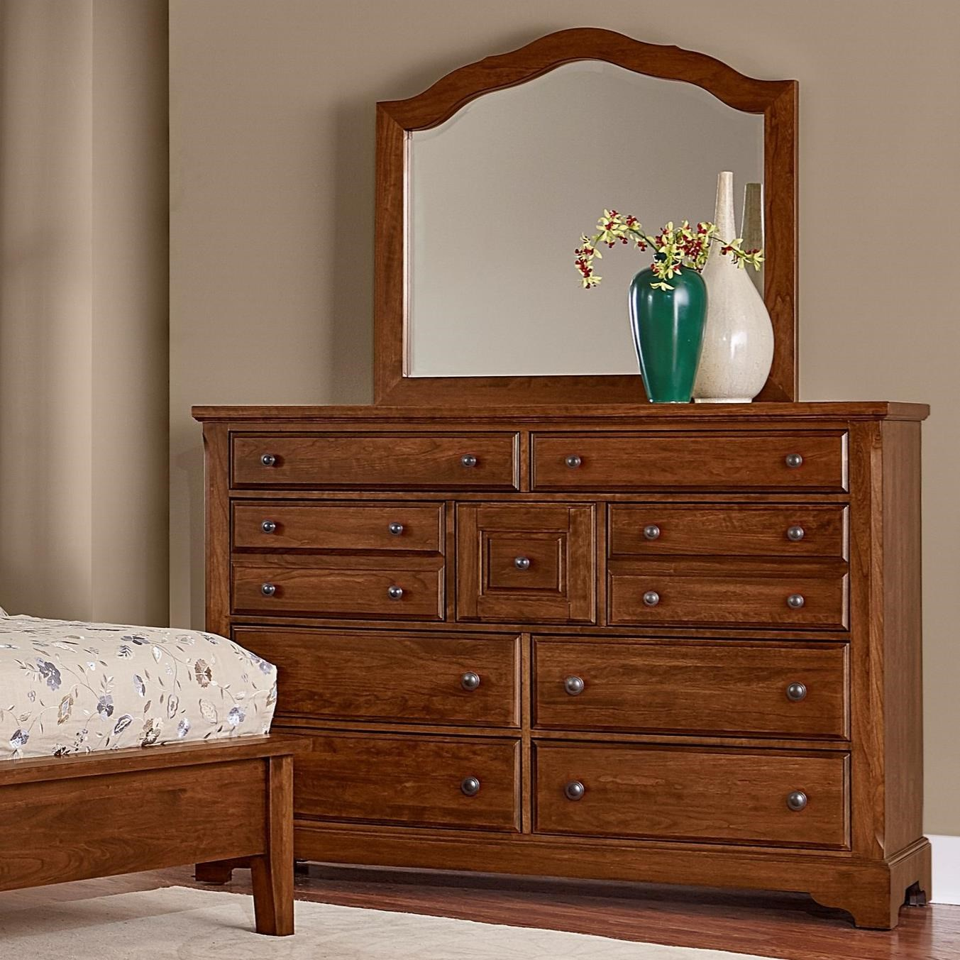 Villa Triple Dresser & Arched Mirror