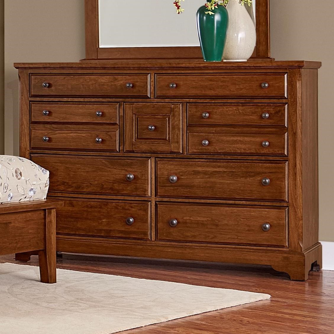 Artisan Choices Villa Triple Dresser - 9 Drawers by Artisan & Post at Crowley Furniture & Mattress