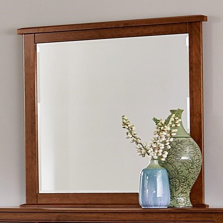 Artisan & Post by Vaughan Bassett Artisan Choices Loft Tall Landscape Mirror - Item Number: 100-445