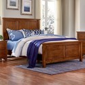 Artisan & Post Artisan Choices Full Panel Bed - Item Number: 100-552+255+911