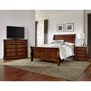 Artisan U0026 Post By Vaughan Bassett Artisan Choices Queen Bedroom Group