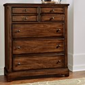 Artisan & Post Artisan Choices Villa Chest - 5 Drawers - Item Number: 101-116