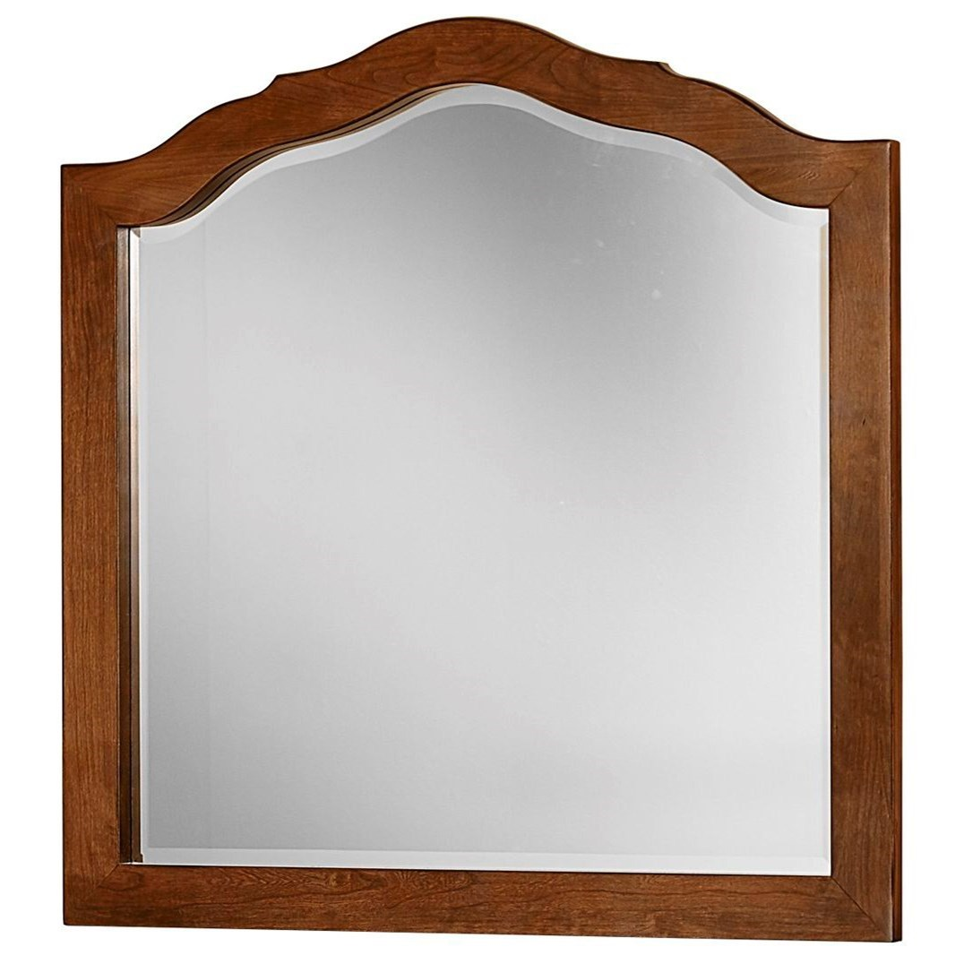 Artisan Choices Loft Tall Arched Mirror by Artisan & Post at Crowley Furniture & Mattress