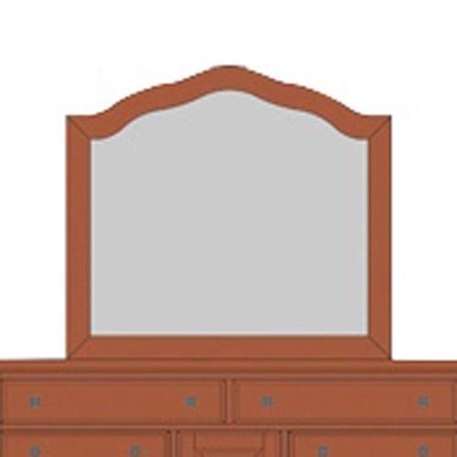 Villa Arched Mirror