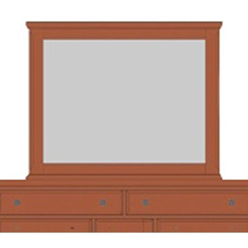 Artisan & Post by Vaughan Bassett Artisan Choices Villa Landscape Mirror - Item Number: 101-446