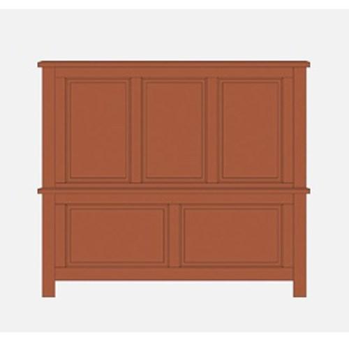 Artisan & Post Artisan Choices King Panel Bed - Item Number: 101-669+966+933+MS2