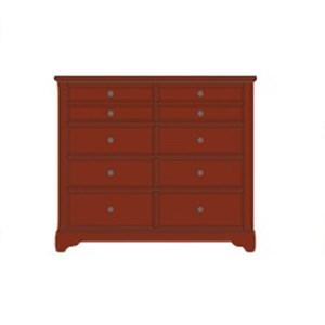 Artisan & Post by Vaughan Bassett Artisan Choices Villa Media Dresser - 8 Drawers