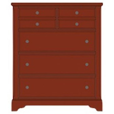 Artisan Choices Villa Chest - 5 Drawers by Artisan & Post at Northeast Factory Direct