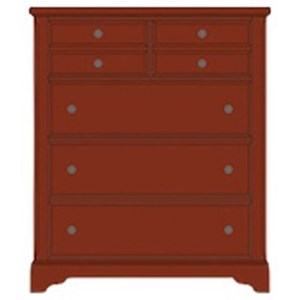 Artisan & Post by Vaughan Bassett Artisan Choices Villa Chest - 5 Drawers
