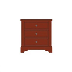 Artisan & Post by Vaughan Bassett Artisan Choices Villa Night Stand - 3 Drawers