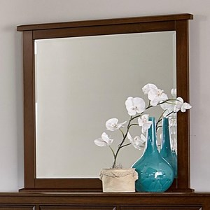 Artisan & Post by Vaughan Bassett Artisan Choices Loft Tall Landscape Mirror