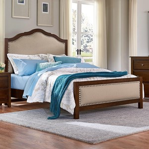 Artisan & Post by Vaughan Bassett Artisan Choices Queen Upholstered Bed