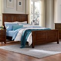 Artisan & Post by Vaughan Bassett Artisan Choices Full Panel Bed - Item Number: 104-552+255+911